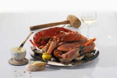 La cuisson des crustacés (homards, tourteaux, araignées, langoustes)